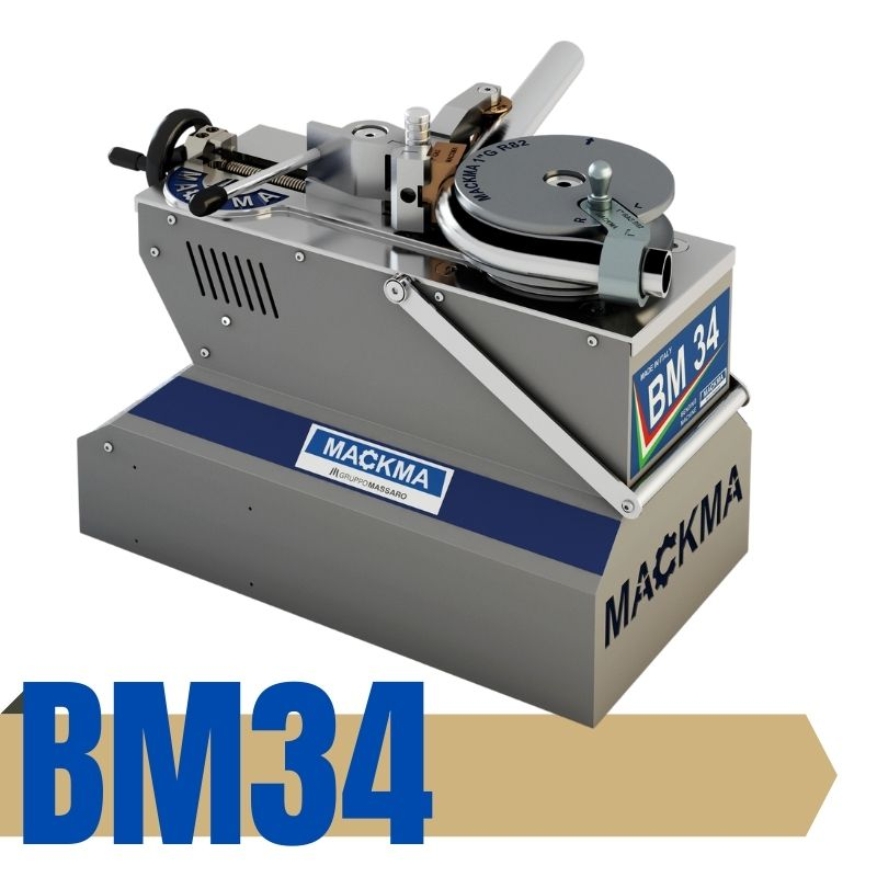 BM34 SP portable pipe bending with Simply control