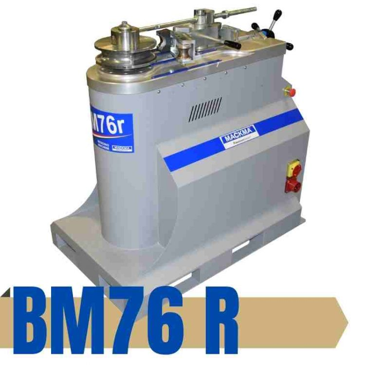 BM76R Round Tube Bender with Expert Control