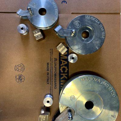 Set di utensili in mm per INOX D25 D30 D40